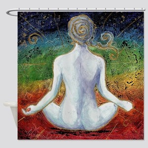 Centered Living 600 Shower Curtain